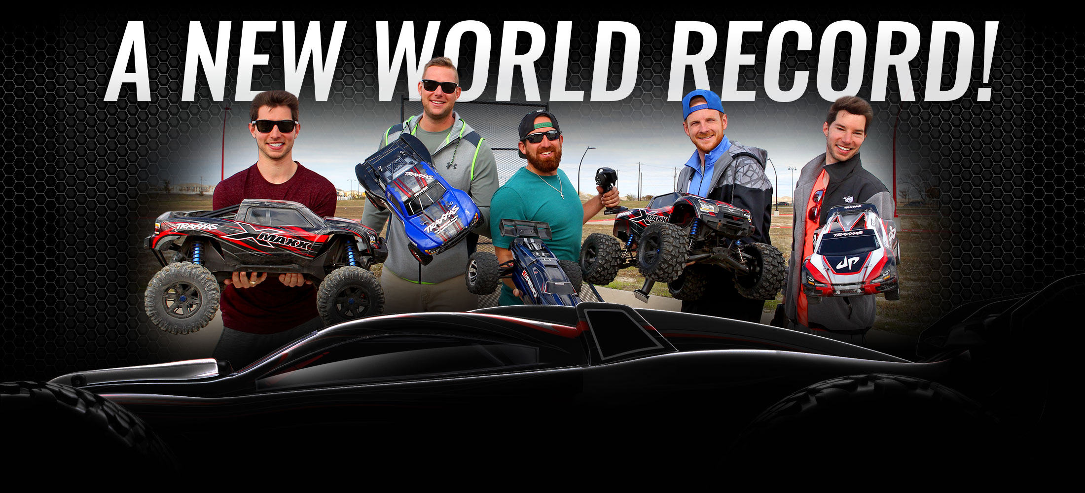 Dude Perfect and Traxxas world record jump