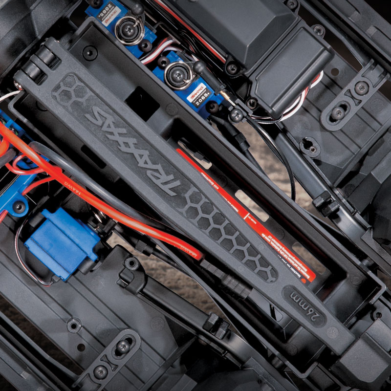 Dual-Fit Battery Tray
