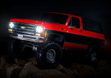 Optional Accessory Light Kit (#8038) (Coming Soon, Sold Separately) for TRX-4 Chevy K5 Blazer