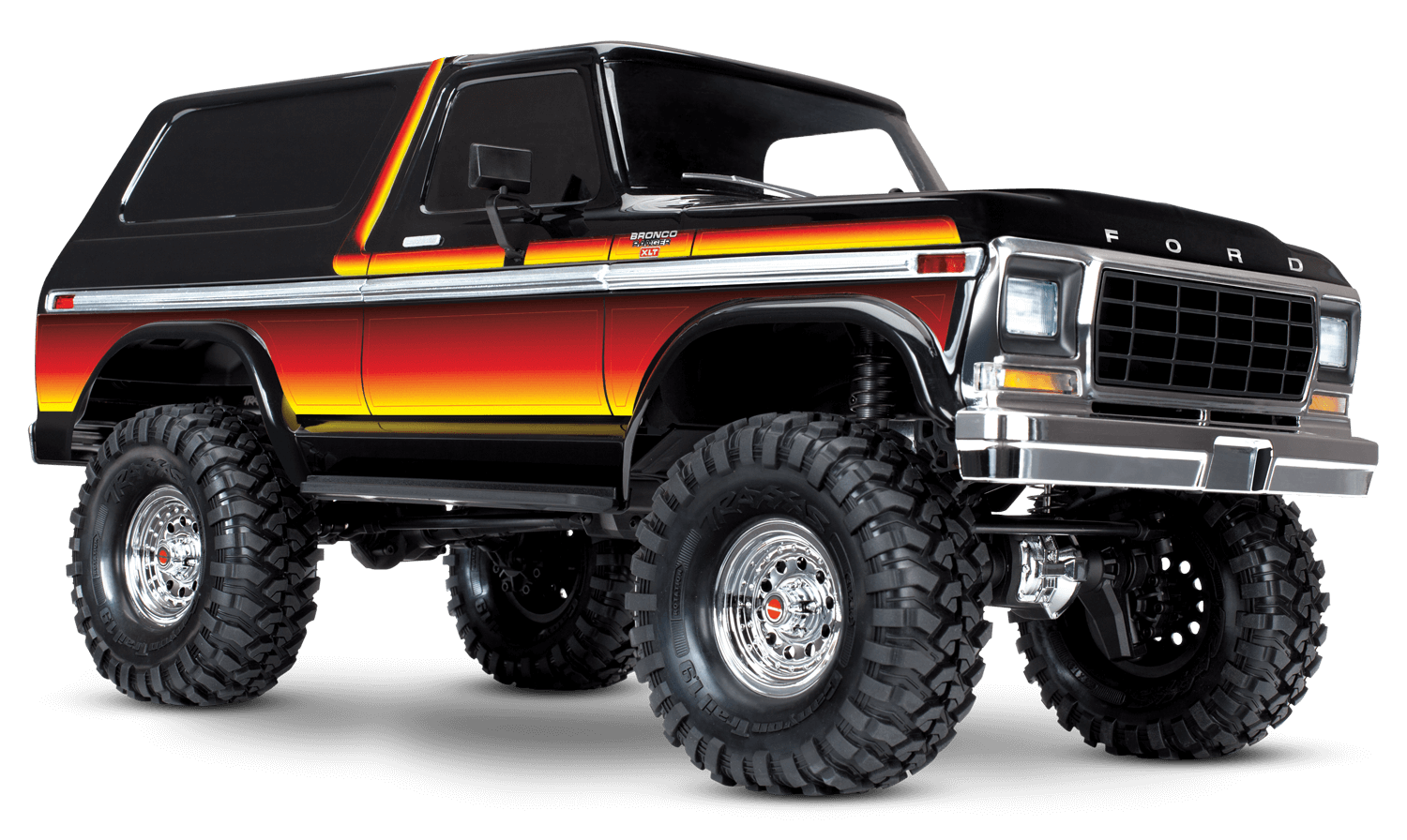 1979 Ford Bronco with Sunset paint scheme