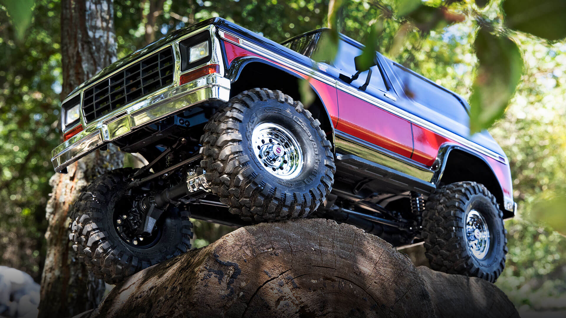 4 TRX 4 Bronco header
