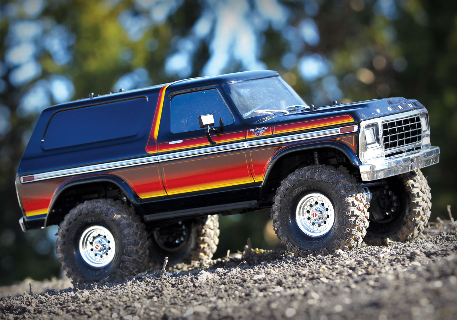 Traxxas Trx 4 Bronco Scale And Trail Crawler 4x4 Rc Truck