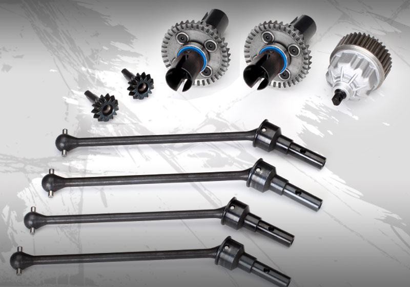 E-Revo's driveline has evolved to handle today's performance demands