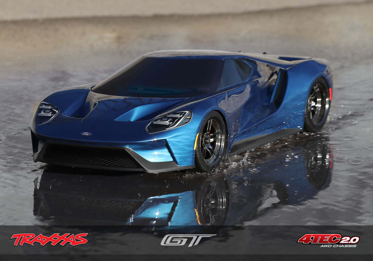 Traxxas Ford Gt Detail