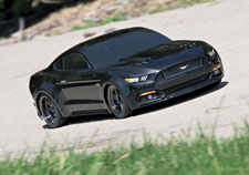 Traxxas Ford Mustang GT Action