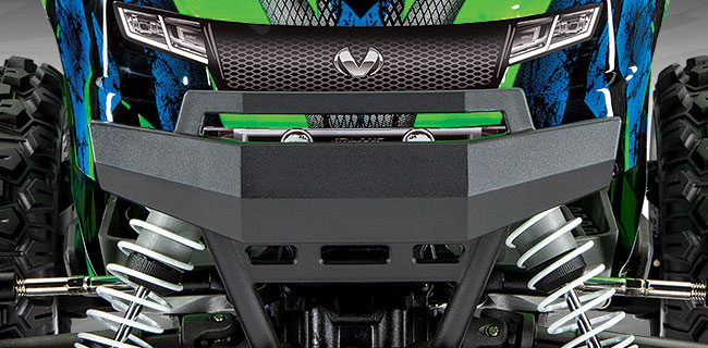 Reinforced Front and Rear Bumpers