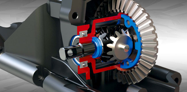 Steel-Gear Differentials