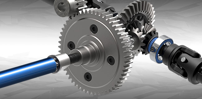 Heavy-Duty Steel Spur Gear