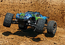 Rustler 4X4 VXL In Action