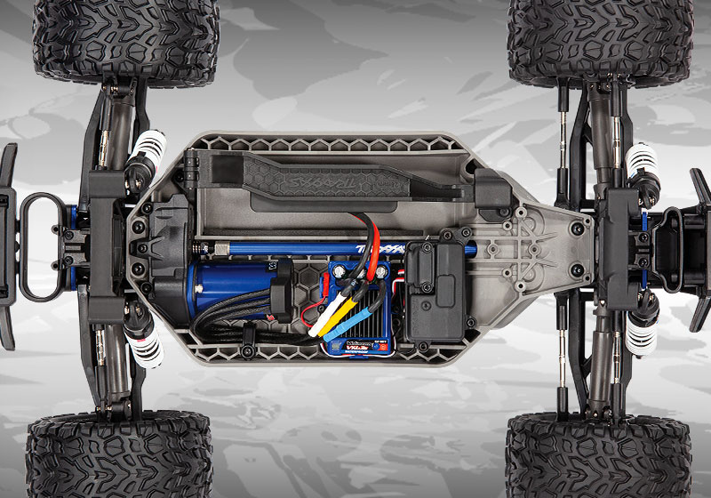 All-new Low-CG Chassis from the ground-up!