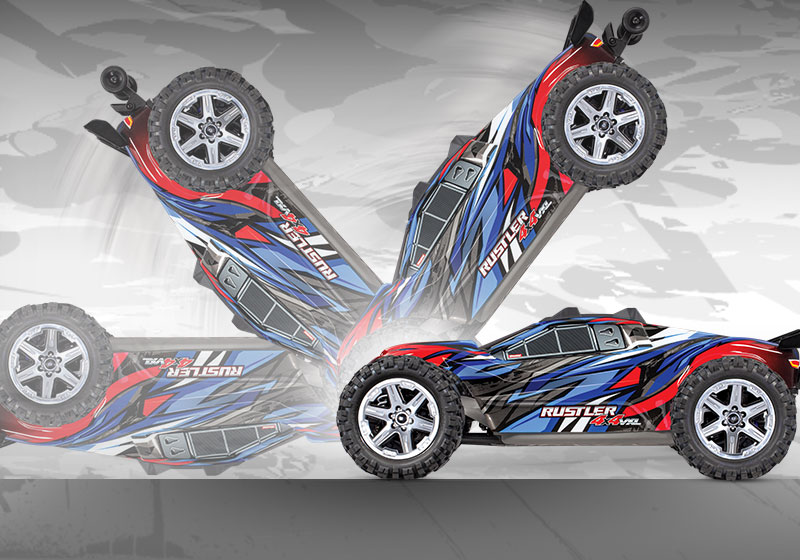 Stone Blue Airlines | Traxxas Rustler 4x4 VXL 1/10 Brushless