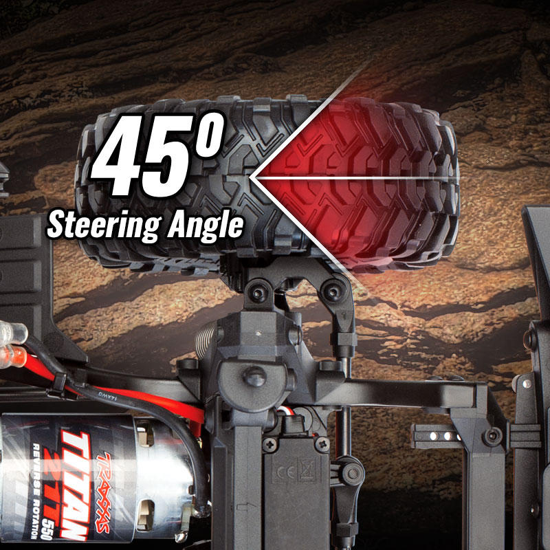 45-Degree Steering Angle