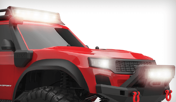 TRX-4 with Bolt-on Headlights