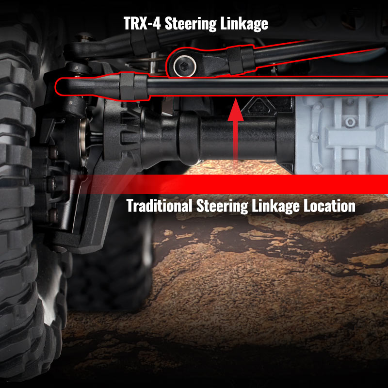 High Steering and Drag Links