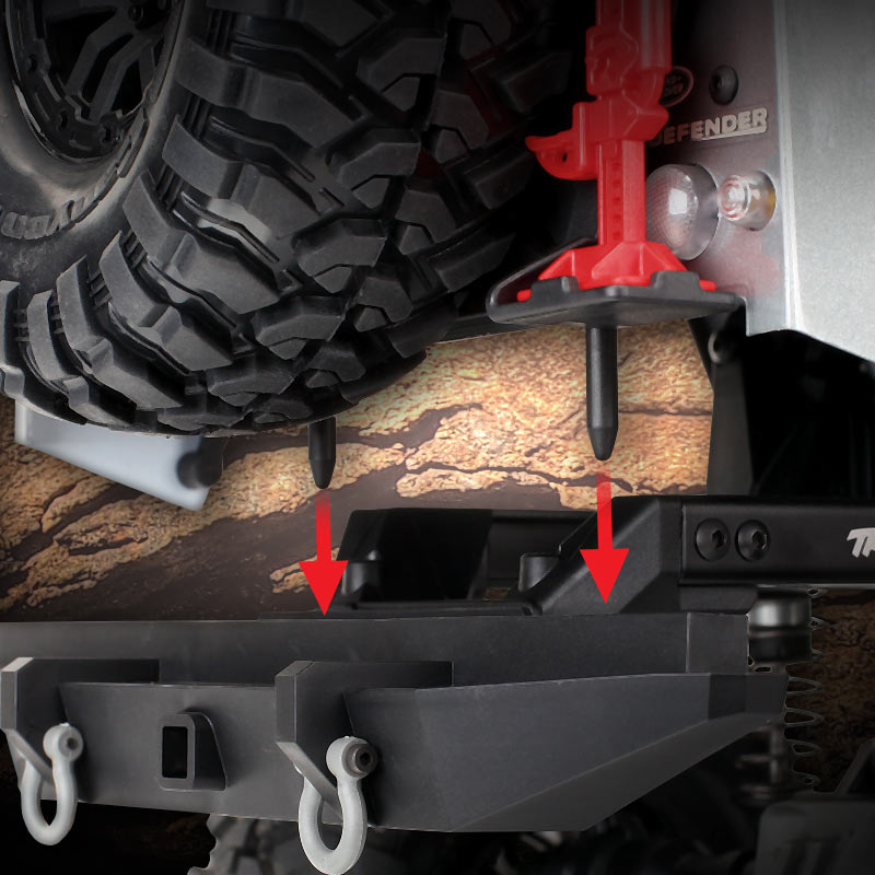 Secure Body Mounting System