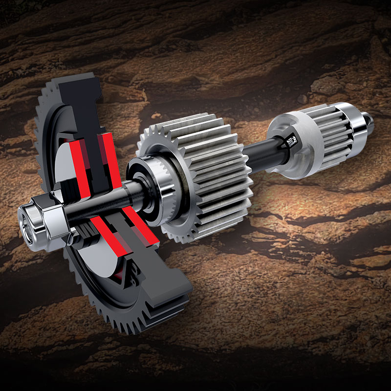 Twin Friction Plate Slipper Clutch