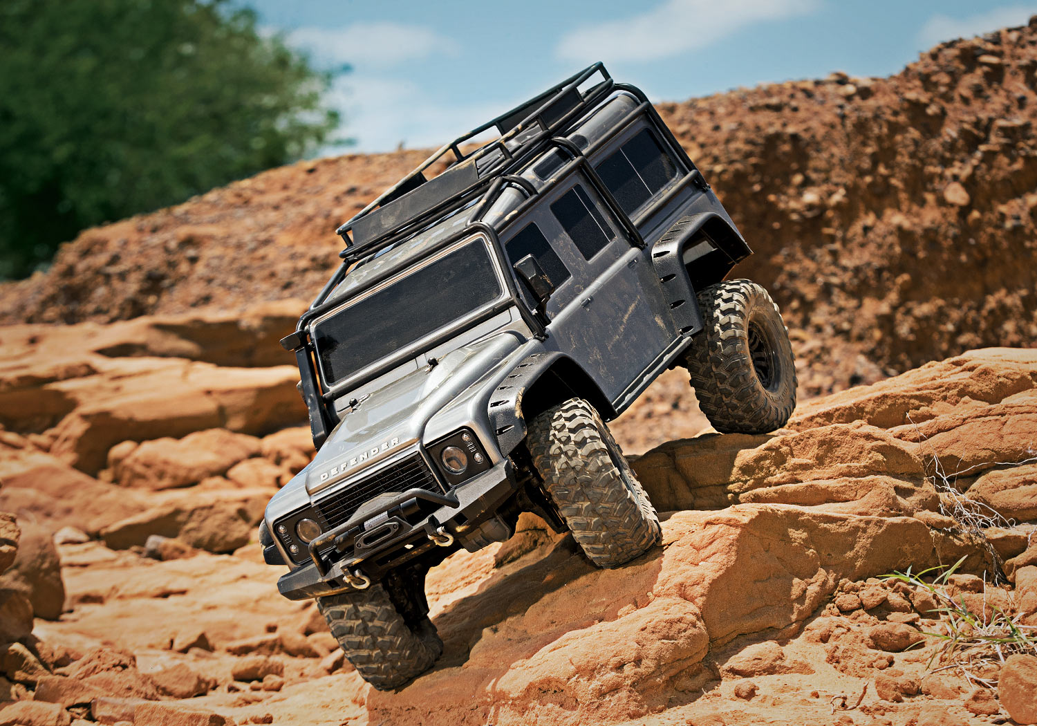 Traxxas Trx 4 Scale Trail Crawler Project 3a New Driving Light Wiring Up Grade Australian Land Rover In Action