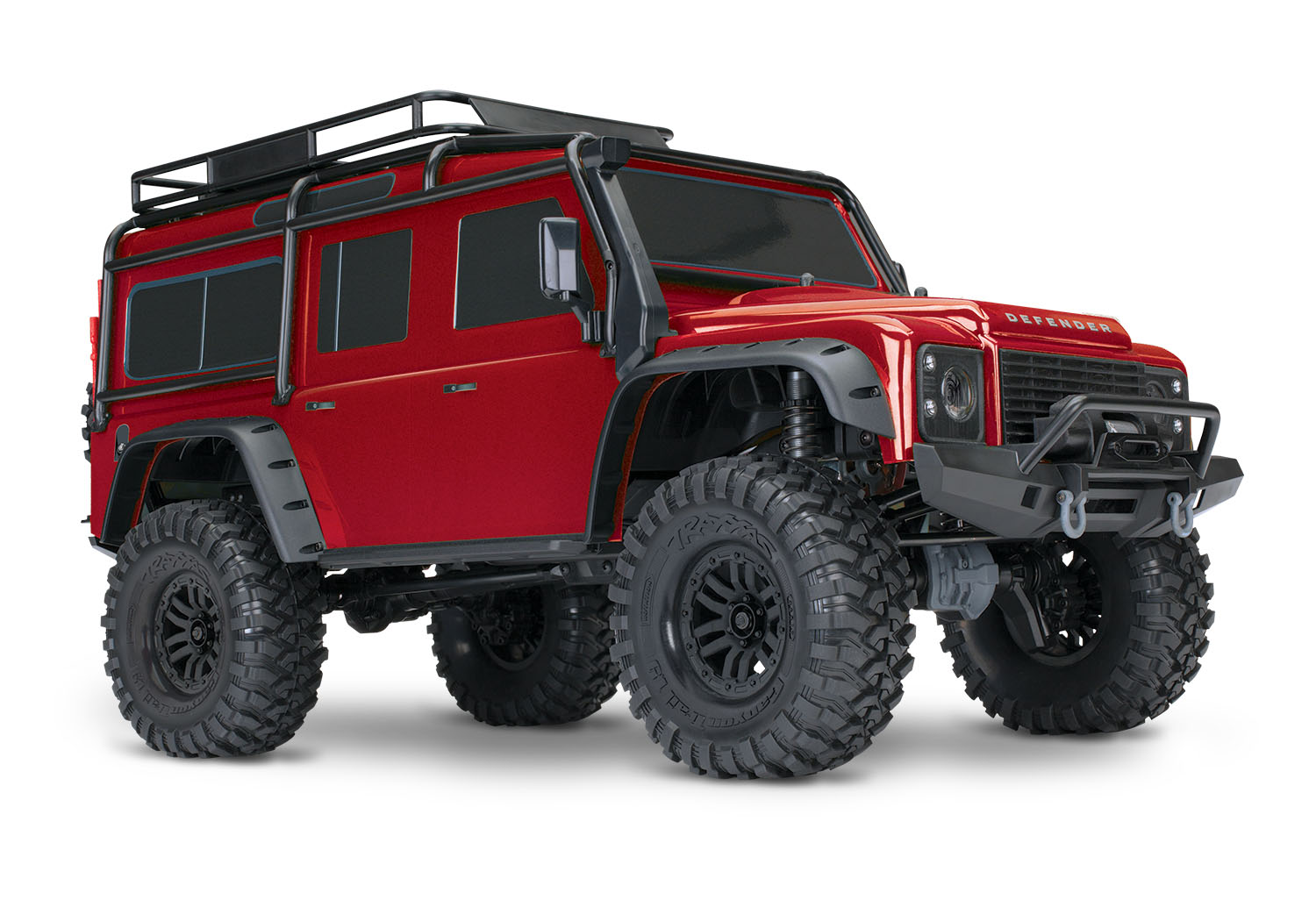 traxxas land rover defender the ultimate in rc rock crawling