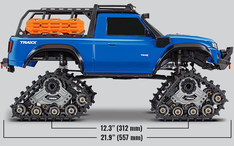 Specs - TRX-4 Equipped with TRAXX (#82034-4)