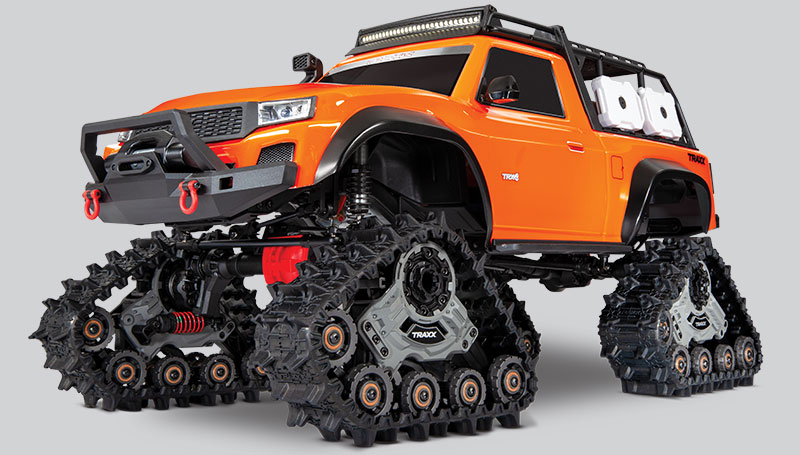 TRX-4 Equipped with TRAXX (#82034-4)