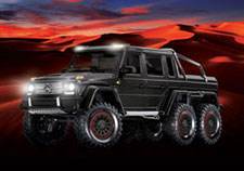TRX-6 Mercedes-Benz G 63 AMG 6x6 (#88096-4) Lights (Black)