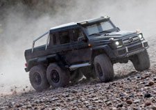 TRX-6 Mercedes-Benz G 63 AMG 6x6 (#88096-4) Action