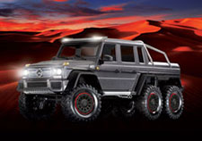 TRX-6 Mercedes-Benz G 63 AMG 6x6 (#88096-4) Lights (Silver)