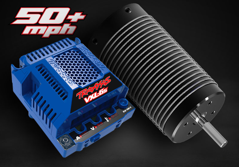 VXL-6s speed control alongside the 2200kV brushless motor