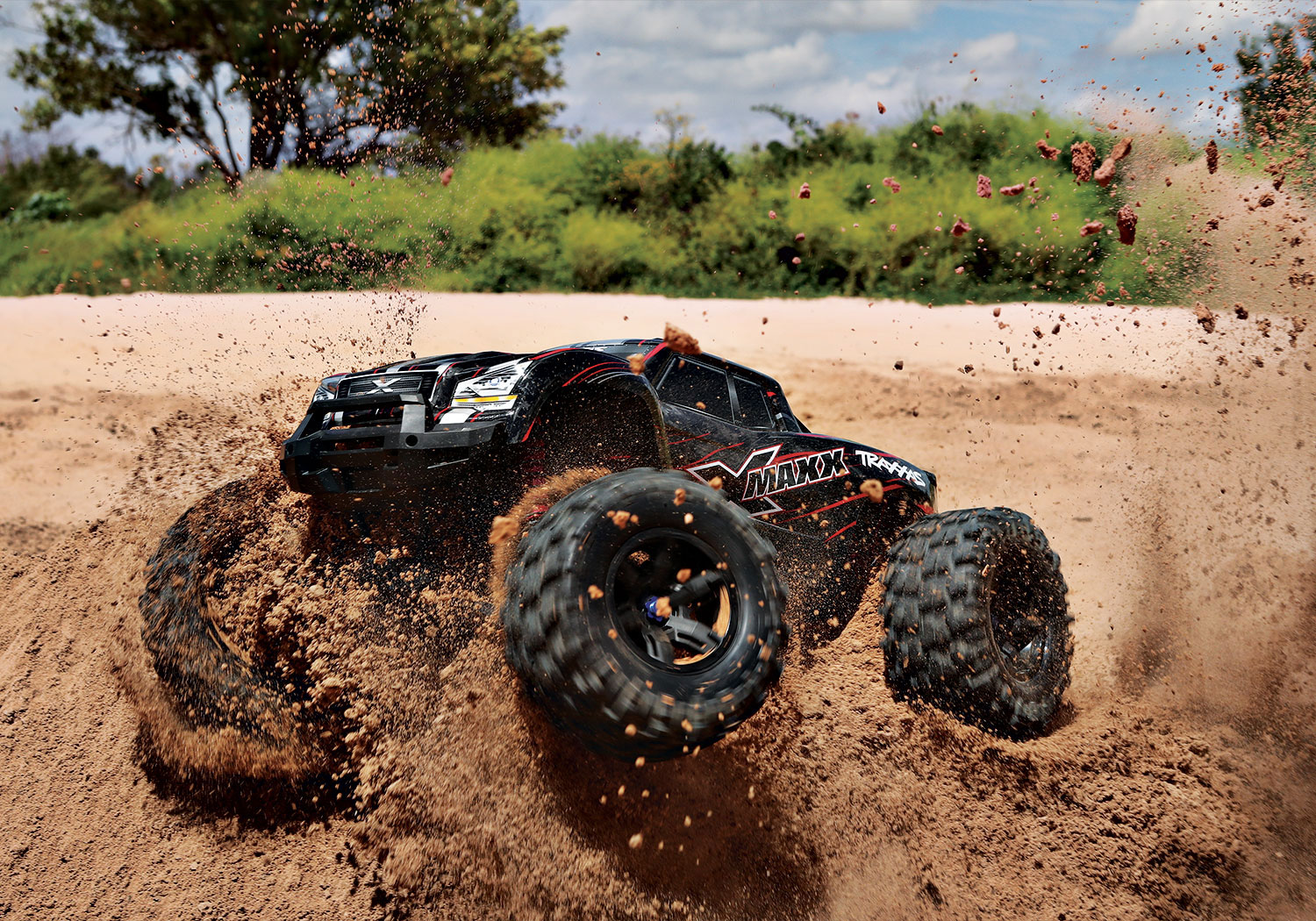 Charge up with Traxxas for extreme performance!