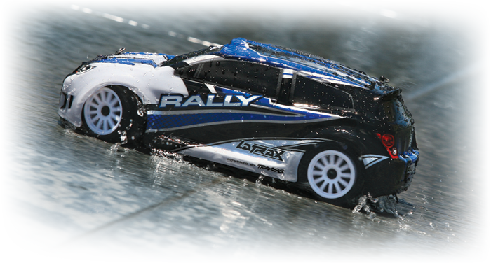 1/18 LaTrax Rally (#75054/#75054-1) Action Water 01