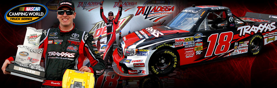 First Team Toyota >> Traxxas Two For Two! Kyle Busch WINS In Talladega! | Traxxas