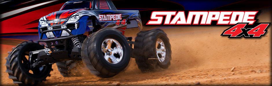 Traxxas Stampede 4X4 with Titan 12T and XL-5 Power!