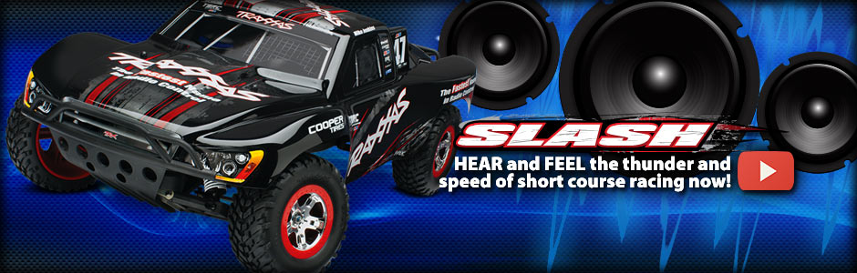 AMP Up the Realism - Traxxas Slash Pro 2WD Short-Course Truck with On Board Audio!