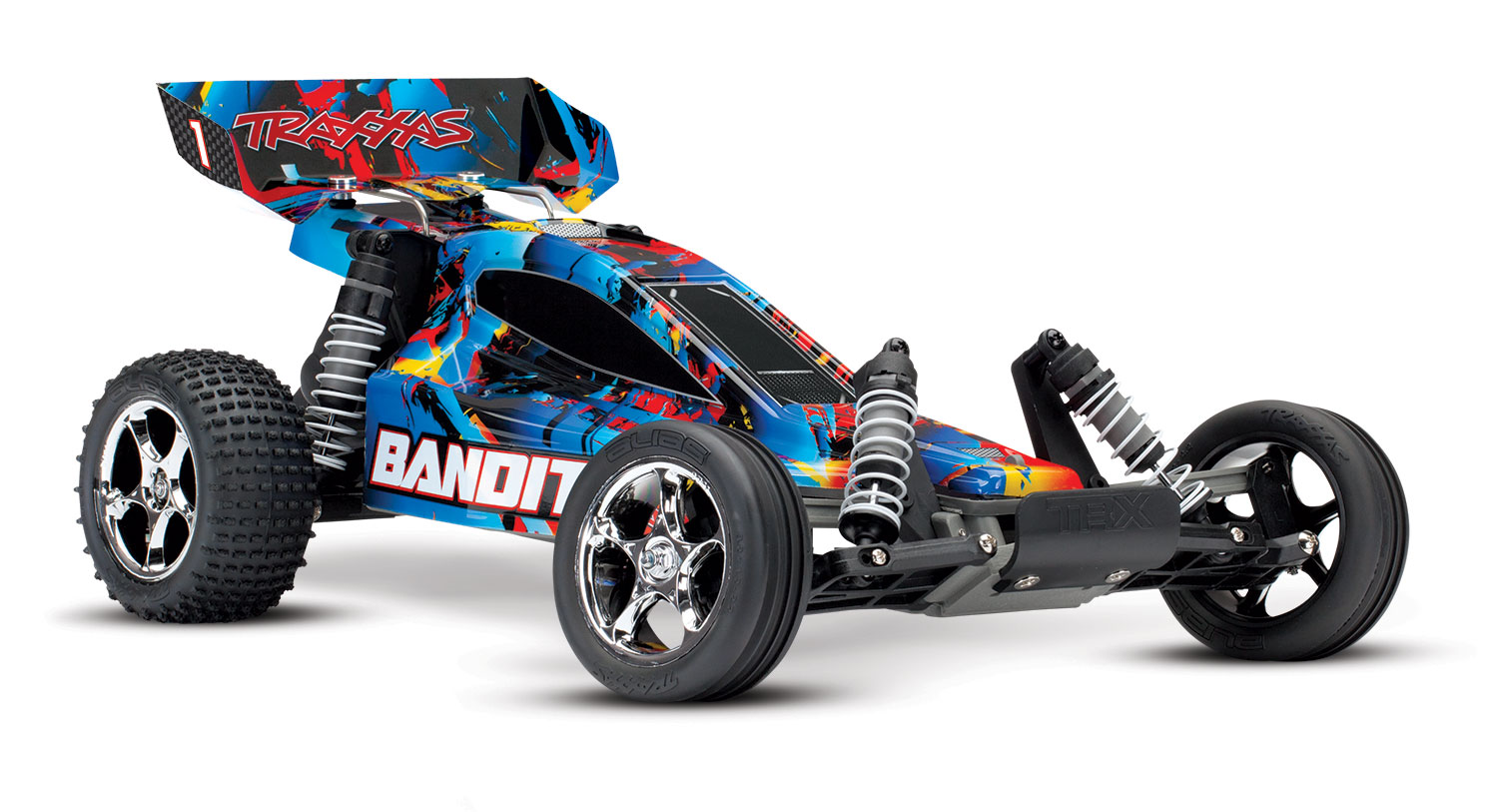 A New Look And Lower Price For Rustler Bandit Traxxas Vxl Parts List