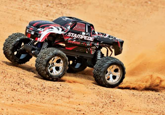 traxxas stampede rc monster truck