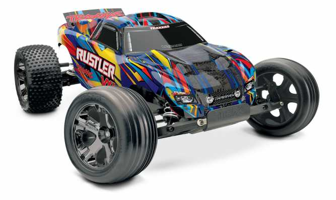 Rustler VXL 1 10 Scale Stadium Truck With TQi Traxxas Link Enabled