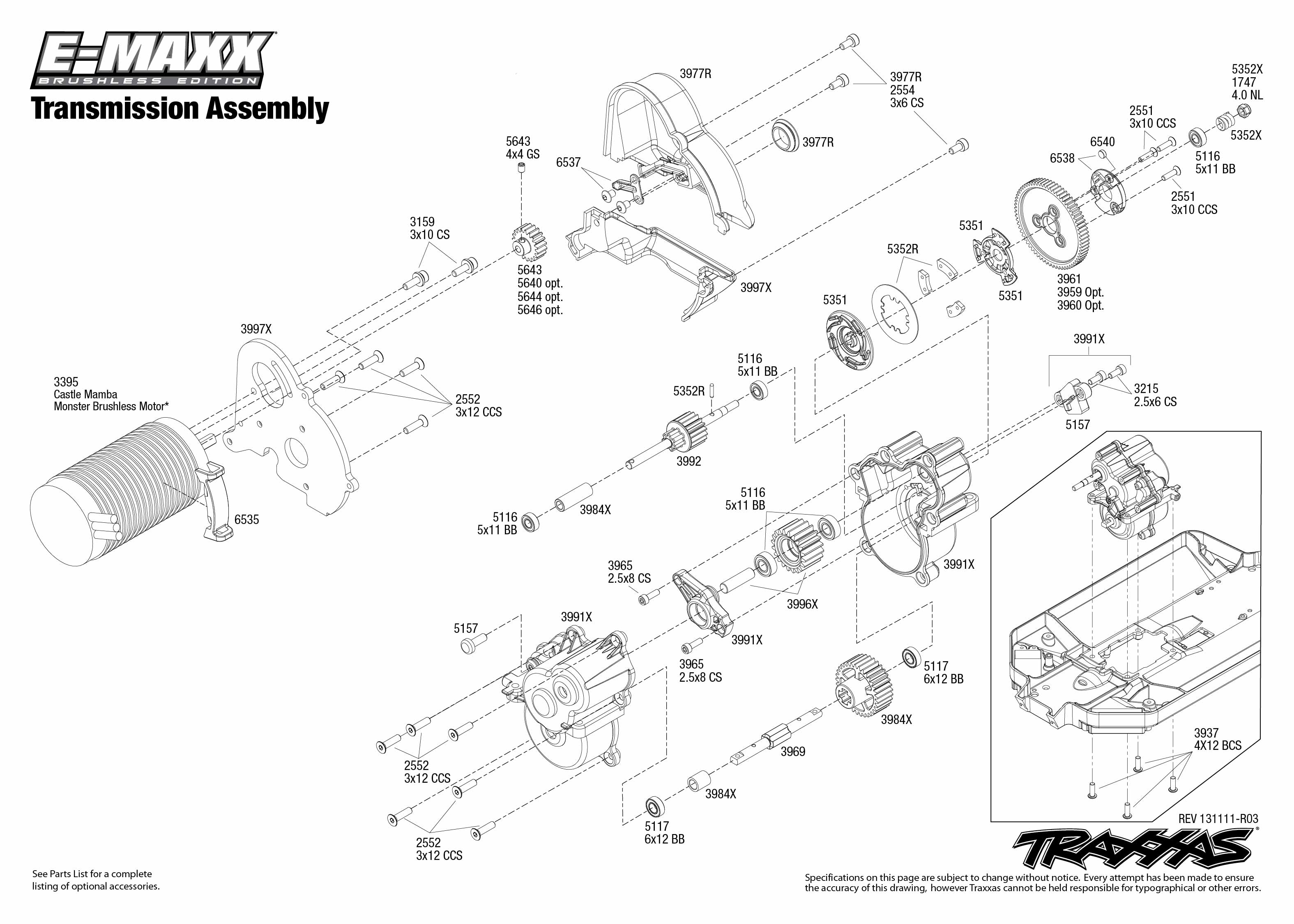 Breathtaking traxxas revo 3 3 parts diagram gallery best image e revo brushless parts diagram image collections diagram design pooptronica Images