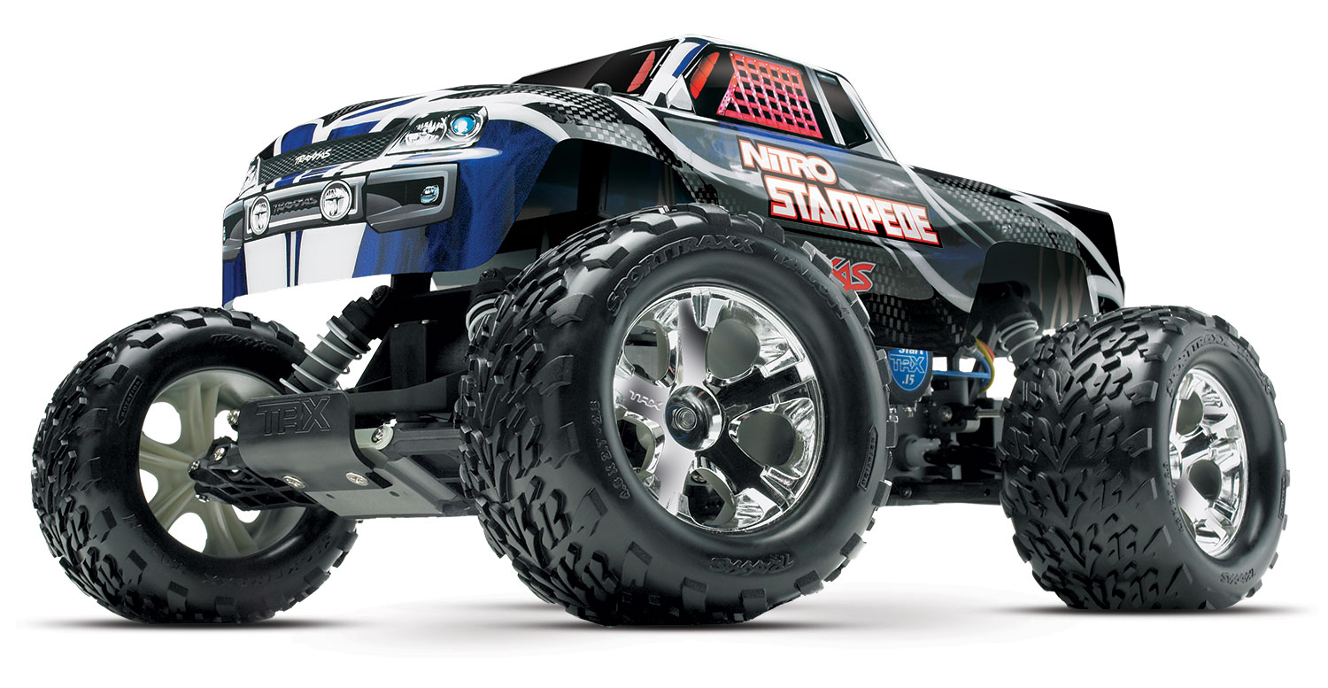 Nitro Stampede: 1/10-Scale Nitro-Powered 2WD Monster Truck ...