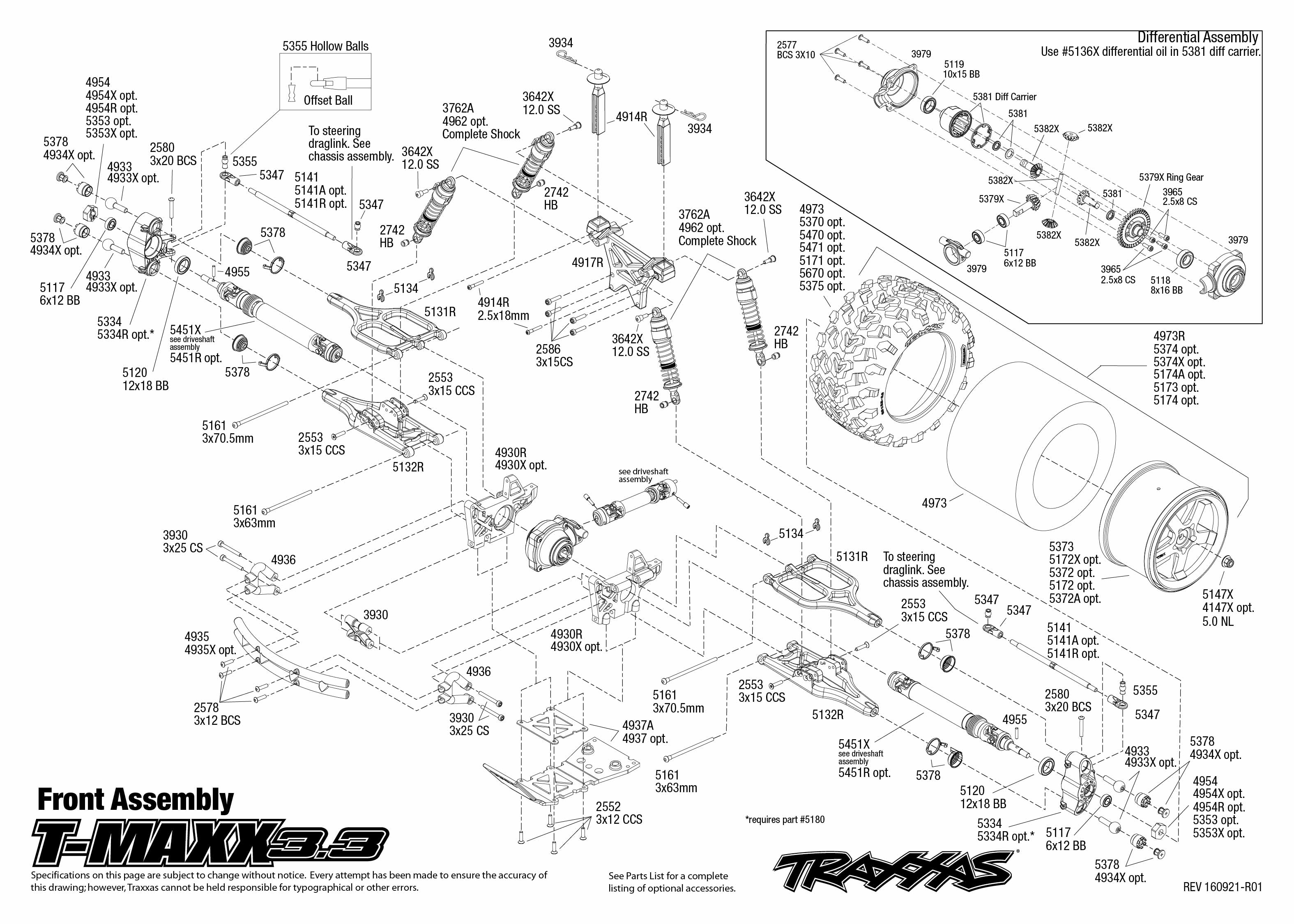 Exciting e maxx parts diagram gallery best image engine traxxas tmaxx 3 3 49077 3 monster truck traxxas slash wiring diagram pooptronica Images
