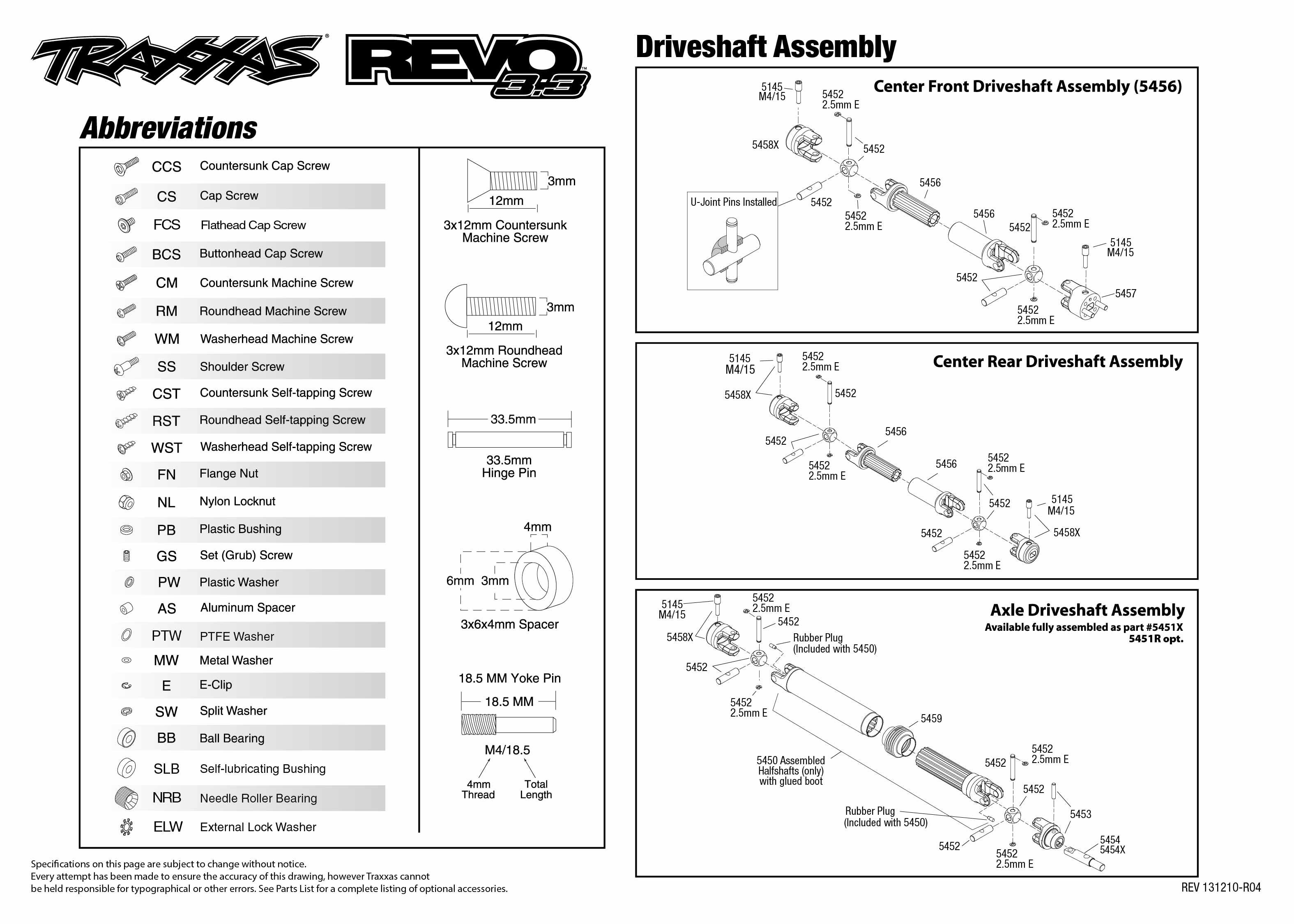 5309_Revo33 TQi exploded views 131210_5309 Driveshafts Assembly diagrams 555312 rsf opel 3 wiring diagram google rsf opel 3 traxxas revo 3.3 wiring diagram at eliteediting.co