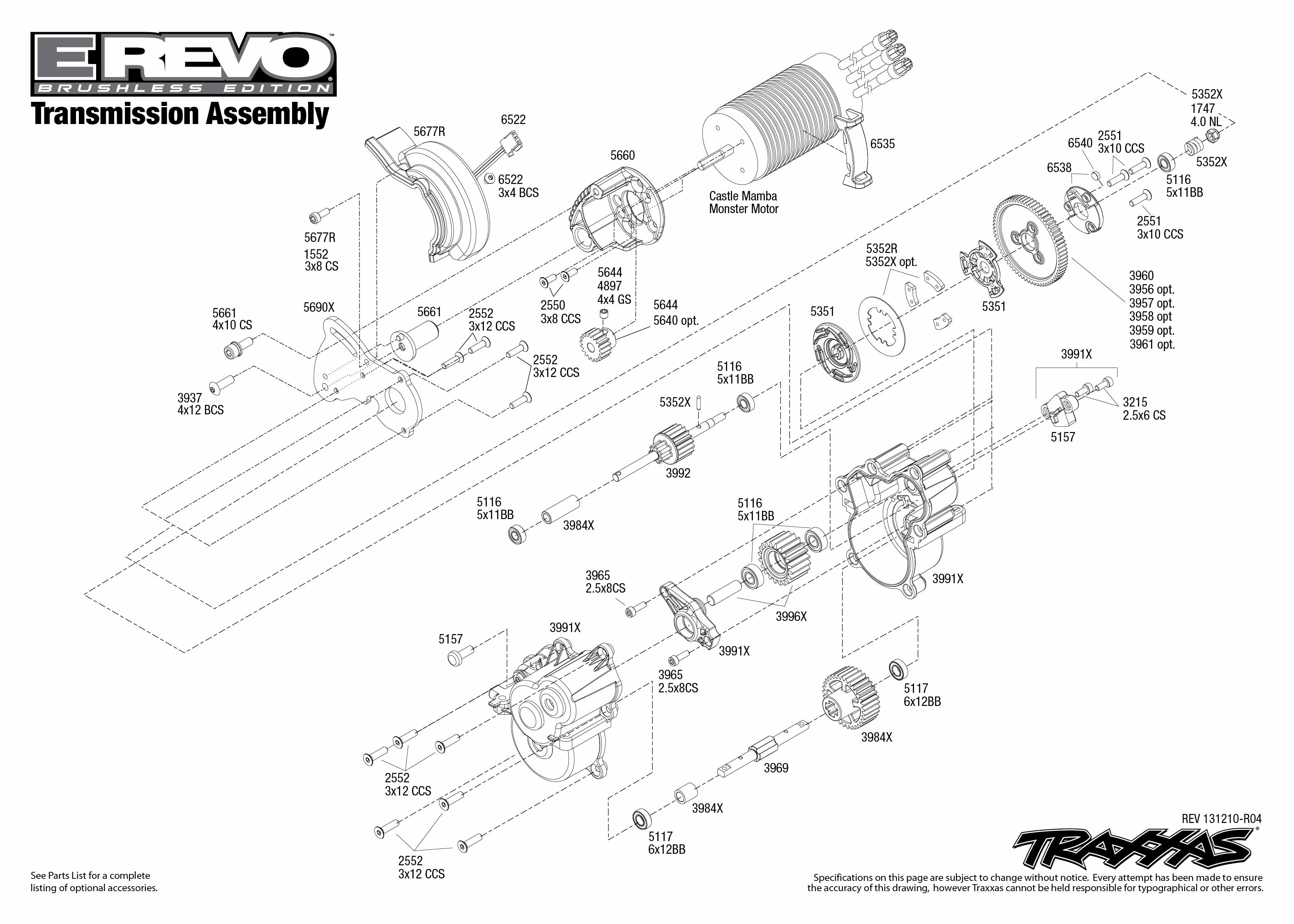 5608 transmission exploded view  e  tqi