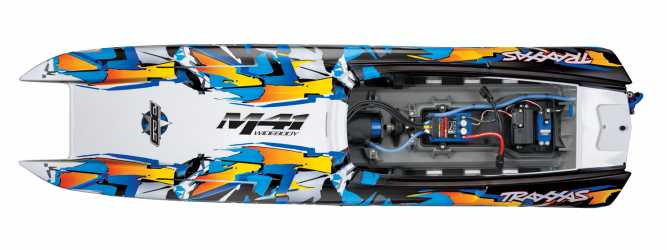 Traxxas M41 | RC Boats | DCB M41 Widebody: Brushless 40 inch, Race