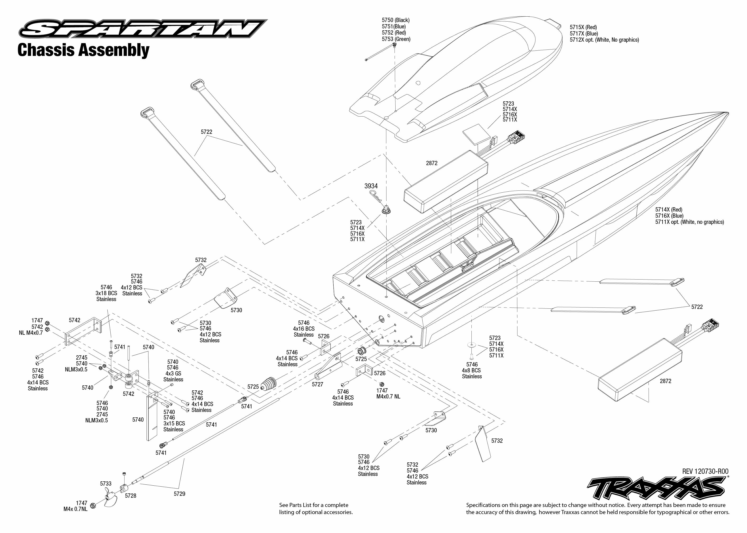 5707 chassis exploded view  spartan  vxl