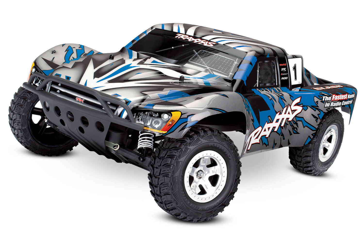 How to Convert a 2WD Slash into a Dirt Oval Race Truck   Traxxas