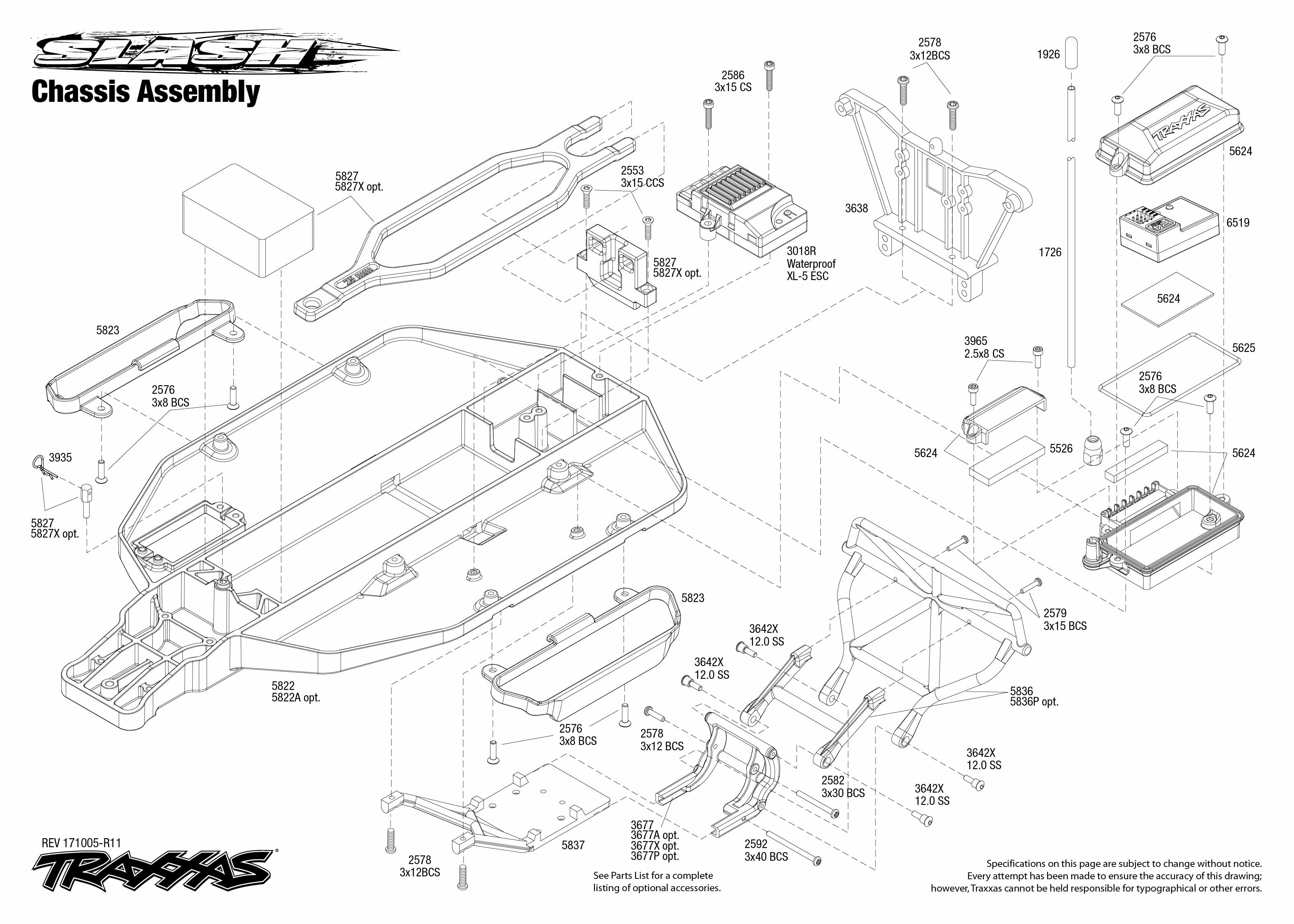 1/10 Traxxas 2wd Slash parts & upgrades – Swasey's Hardware