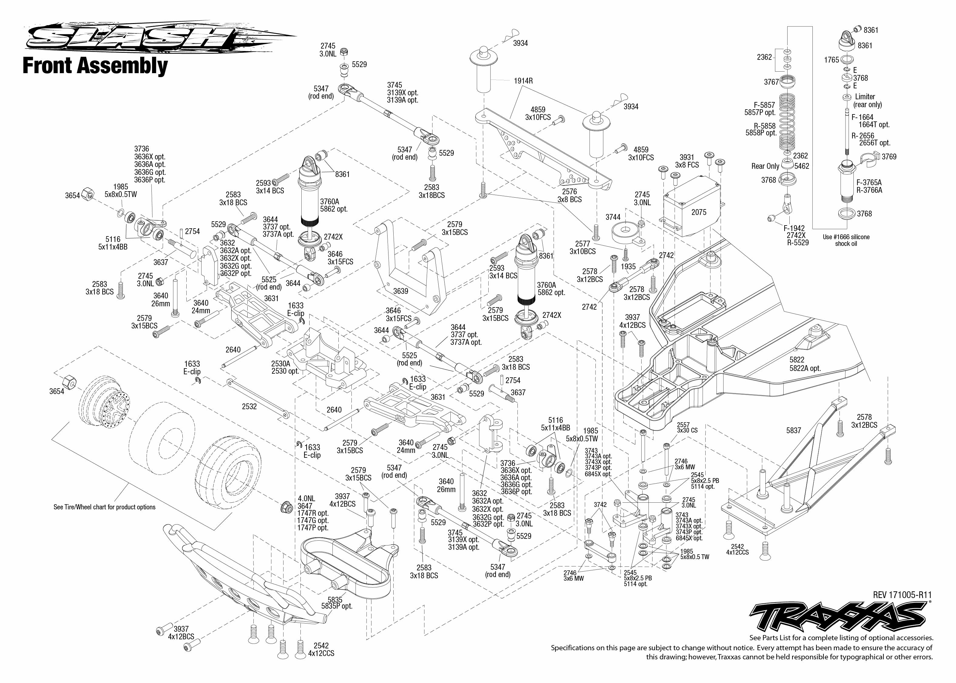 1/10 Traxxas 2wd Slash parts & upgrades – Page 3 – Swasey's Hardware
