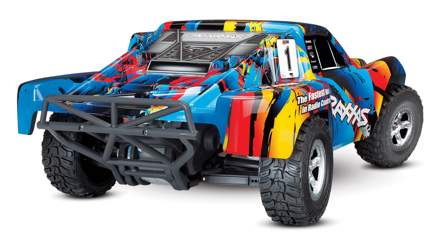 Traxxas Slash 2WD 1/10 RNR, Brushed, No Battery/Charger