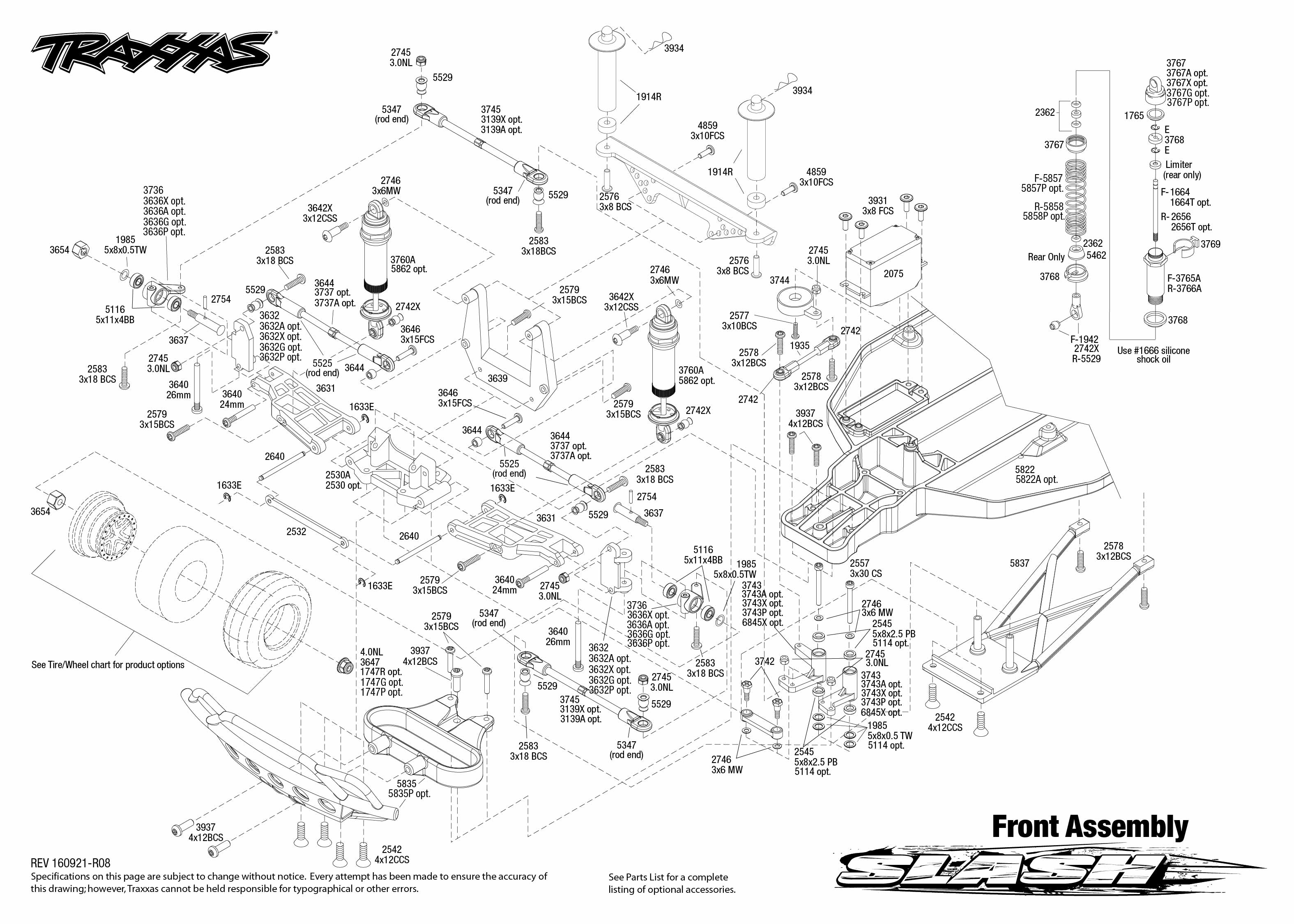 Traxxas 1 10 Scale Stampede Vxl 2wd Monster Truck 3607l Parts Diagram Front Worksheet And Wiring Is Anything Wrong With My Steering Rh Forums Com Rustler 4x4