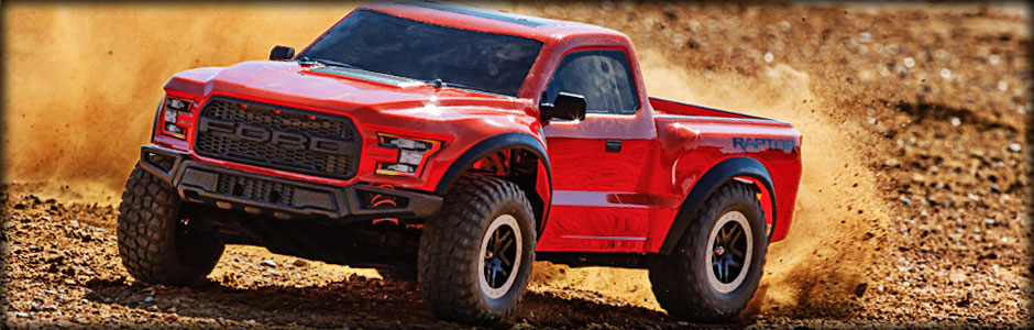 58094-1 Ford Raptor Red