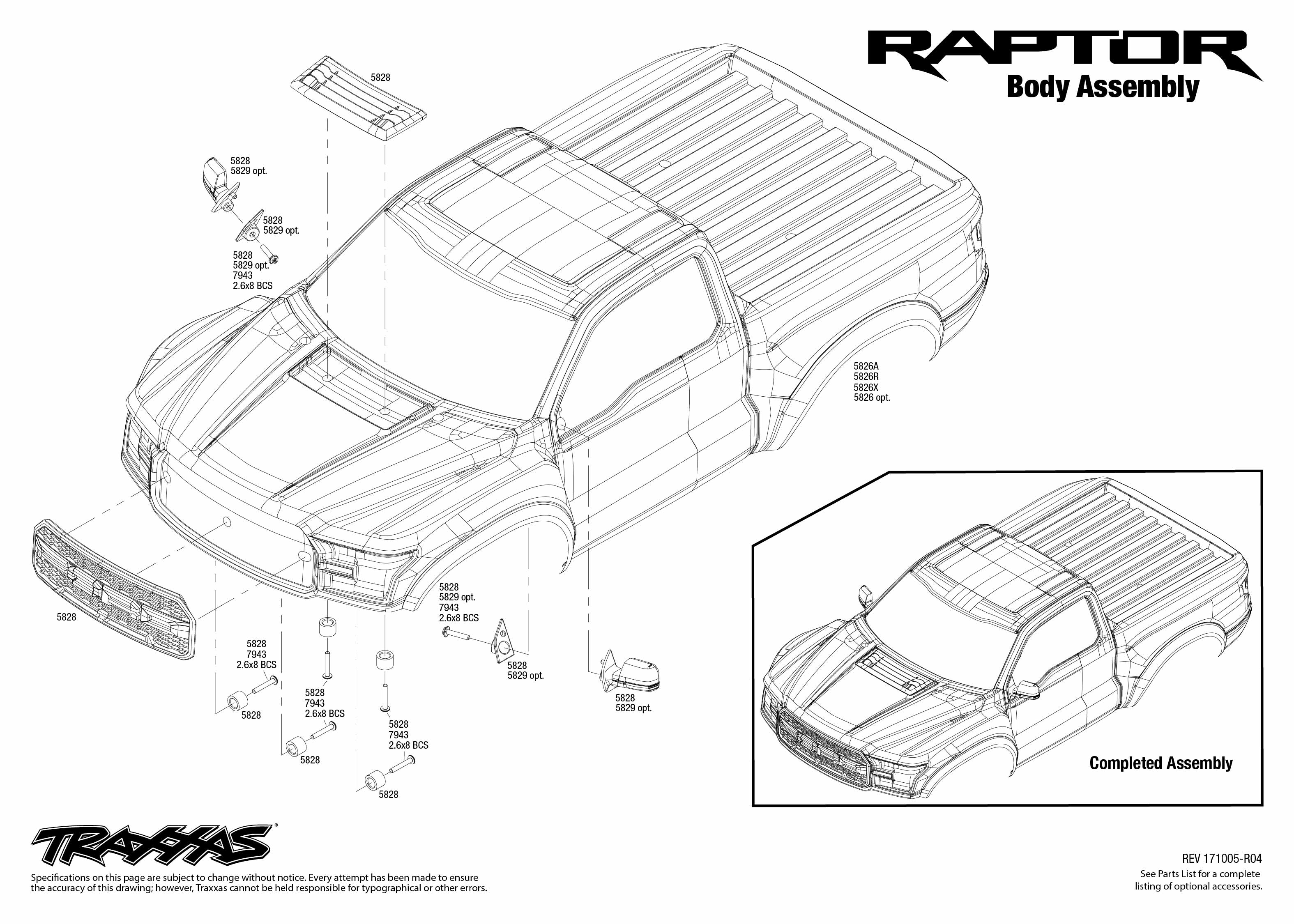 Ford    F      150    Raptor  580941     Body    Assembly Exploded View